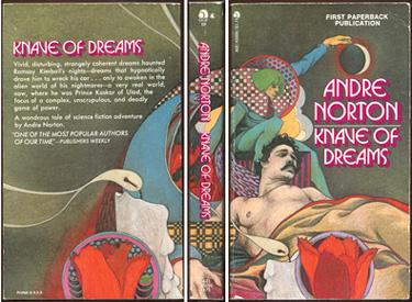 NORTON, ANDRE. - Knave of Dreams.