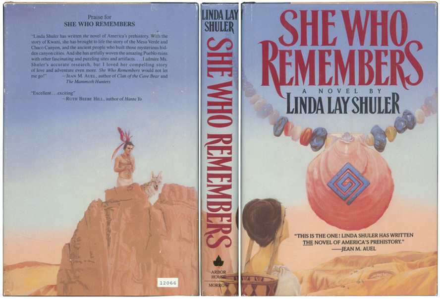 SHULER, LINDA LAY. - She Who Remembers.